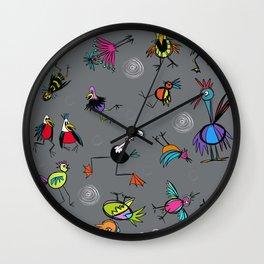 Birdies for fun Wall Clock