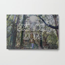 Explore More Forest Print Metal Print