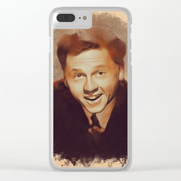 Mickey Rooney, Hollywood Legend Clear iPhone Case
