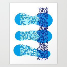 Water Cell Art Print