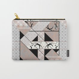 Patchwork pattern. Carry-All Pouch
