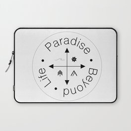 Life Compass Laptop Sleeve