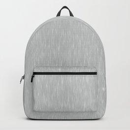 Aluminum Brushed Metal Backpack