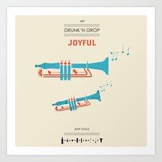 BAR TOOLS 3 - JOYFUL Art Print