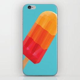 Ice Block Polygon Art iPhone Skin