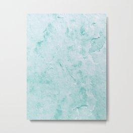 Fresh Water Marble Metal Print