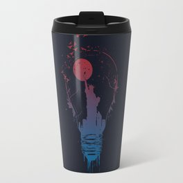 Big city lights II (dark) Travel Mug