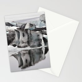 Ashy Glaciers. Stationery Cards