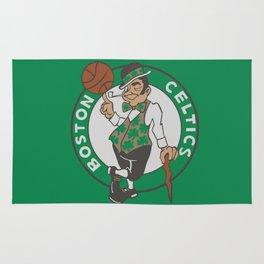 Boston Celtic Logo Rug