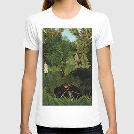 "Henri Rousseau ""Merry jesters"", 1910 T-shirt"