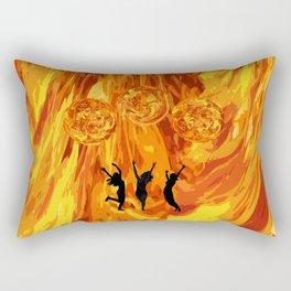 Girl Power Happy Dance Rectangular Pillow