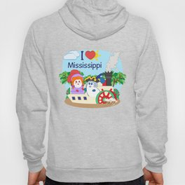 Ernest and Coraline | I love Mississippi Hoody