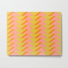 Shape Pattern 74 Metal Print