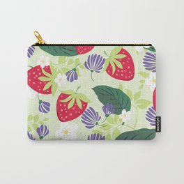 Strawberrie patten Carry-All Pouch