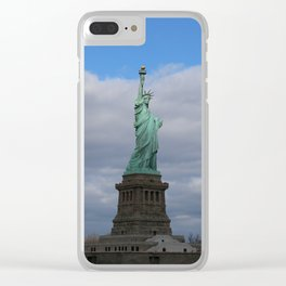 Statue of Liberty NYC Clear iPhone Case