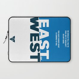 East of West Laptop Sleeve