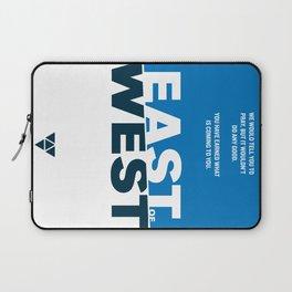 East of West Laptop Sleeve