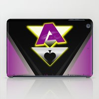 asexual iPad Cases featuring Ace by drQuill