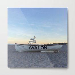 Avalon, NJ Metal Print