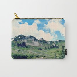 Up Mount Rainier Carry-All Pouch