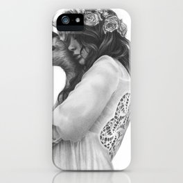 innocence with love iPhone Case