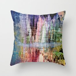 Born in a Wonderful World Throw Pillow