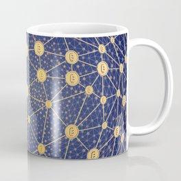 Cryptocurrency mining network Coffee Mug