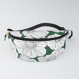 Botaical illustration pattern - Floral 004 Fanny Pack