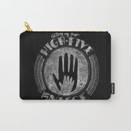 Getting my first high-five from my neice | By: Melissa Medwyk Carry-All Pouch