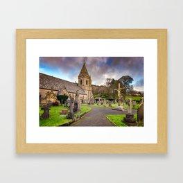 Church at Pantasaph Framed Art Print