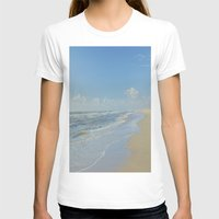 denmark T-shirts featuring North sea coastline in Denmark by Ricarda Balistreri