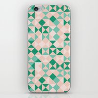 emerald iPhone & iPod Skins featuring Emerald  by Leandro Pita
