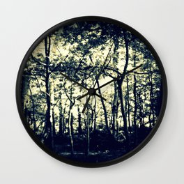 Down to the Woods Wall Clock