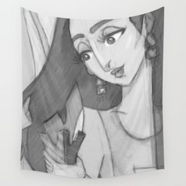 Emirati Female with Dhukhoon Wall Tapestry