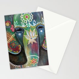 Indischer Elefant Stationery Cards