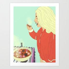 Coocking #1 Art Print