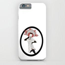 Catrina pinup iPhone Case