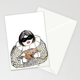Hedgehog Girl Stationery Cards
