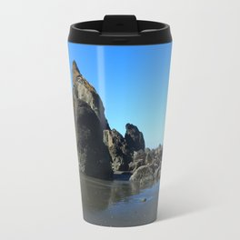 Sea Stacks Of Ruby Beach Travel Mug