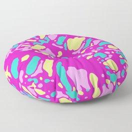 Coral Reef Sunset Glow Floor Pillow