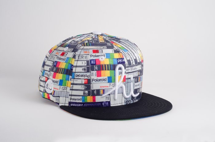 Snapback Hat: Hollis Brown Thornton (in4mation x Society6) Editions