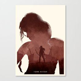 Tomb Raider (II) Canvas Print