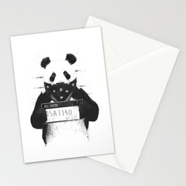 Bad panda Stationery Cards