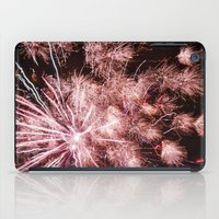 fireworks iPad Cases featuring Fireworks by For the easily distracted...