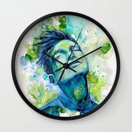 Dash by carographic, Carolyn Mielke Wall Clock