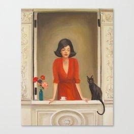 Sylvie and Peridot Canvas Print