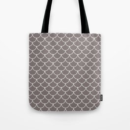 Warm Gray Scales Tote Bag