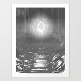 Mythic, now. Art Print