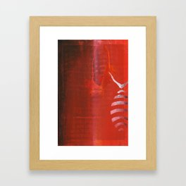 out-living fact Framed Art Print