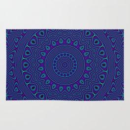 Trippy Kaleidoscope Rug